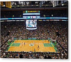 New England Acrylic Print featuring the photograph Boston Celtics by Juergen Roth