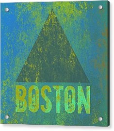 Boston Triangle V2 Acrylic Print by Brandi Fitzgerald