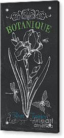 Botanique 1 Acrylic Print by Debbie DeWitt