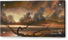 Botany Bay Acrylic Print by James Christopher Hill