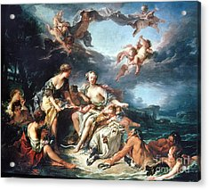 Boucher: Abduction/europa Acrylic Print by Granger