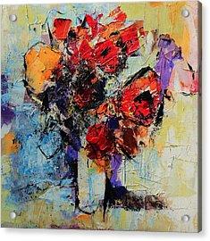 Bouquet De Couleurs Acrylic Print by Elise Palmigiani