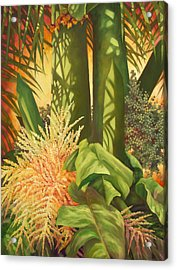 Bouquet Of Palm Acrylic Print by Monica Linville