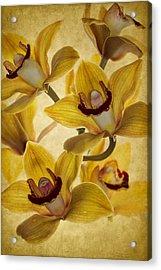 Bouquet Acrylic Print by Rebecca Cozart