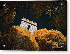 Boyd Tower Acrylic Print by Russ Brown