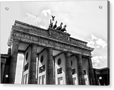 Brandenburg Gate - Berlin Acrylic Print by Juergen Weiss