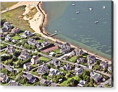 Brant Point House Nantucket Island 4 Acrylic Print by Duncan Pearson
