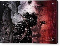 Break Through Acrylic Print by Az Jackson
