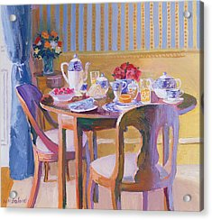Breakfast Table Acrylic Print by William Ireland