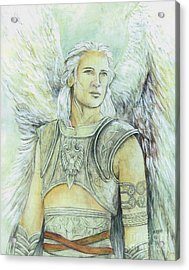 Breastplate Of Righteousness Acrylic Print by Morgan Fitzsimons