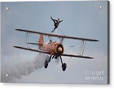 Breitling Wing Walker Acrylic Print by Nichola Denny
