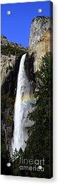 Bridalveil Falls - Yosemite Acrylic Print by Deby Dixon