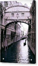 Bridge Of Sighs Acrylic Print by Warren Home Decor