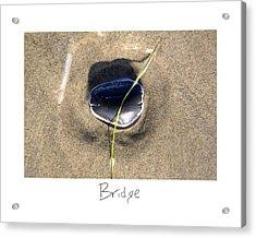 Bridge Acrylic Print by Peter Tellone