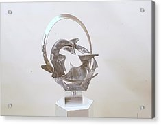 Bridge To Subconscious Acrylic Print by Mac Worthington