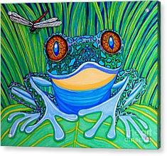 Bright Eyes 2 Acrylic Print by Nick Gustafson