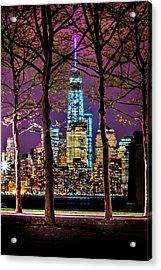Bright Future Acrylic Print by Az Jackson