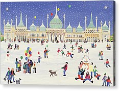 Brighton Royal Pavilion  Acrylic Print by Judy Joel