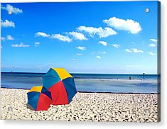 Bring The Umbrella With You Acrylic Print by Susanne Van Hulst