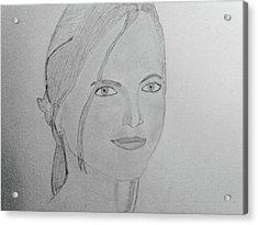 Britney Spears Acrylic Print by Vivek Raj