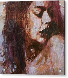 Broken Down Angel Acrylic Print by Paul Lovering