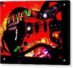 Broken Epi Acrylic Print by Curt Curt