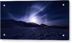 Broken Acrylic Print by Tor-Ivar Naess