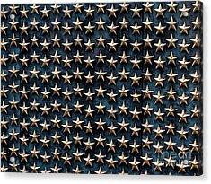 Bronze Stars Acrylic Print by Steve Grisham