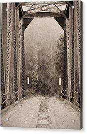 Brooklyn Bridge Acrylic Print by JC Findley