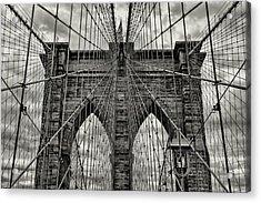 Brooklyn Bridge Acrylic Print by Stephen Stookey