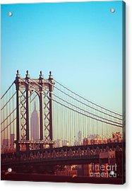 Brooklyn Empire View Acrylic Print by Sonja Quintero