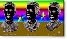 Brothers Three Acrylic Print by Eric Edelman