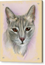 Brown Eyed Girl Acrylic Print by MM Anderson