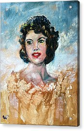 Brown Eyed Girl Acrylic Print by Patricia Taylor