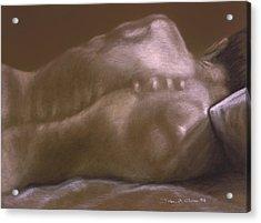 Brown Series II Acrylic Print by John Clum
