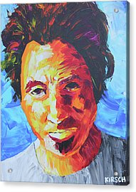 Bruce Springsteen Acrylic Print by Robert Kirsch