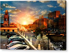 Brush Creek Kansas City Missouri Acrylic Print by Liane Wright