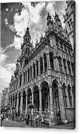 Brussels City Museum Acrylic Print by Georgia Fowler