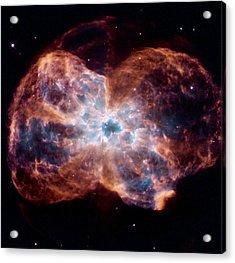 Bubble Nebula Acrylic Print by Hubble Space Telescope