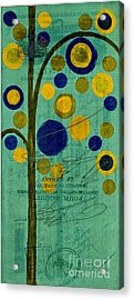 Bubble Tree - 42r1r Acrylic Print by Variance Collections