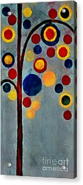 Bubble Tree - Dps02c02f - Right Acrylic Print by Variance Collections