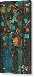 Bubble Tree - Spc02bt05 - Left Acrylic Print by Variance Collections