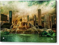 Acrylic Print featuring the photograph Buckingham Fountain by Joel Witmeyer