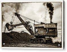 Bucyrus Erie Shovel Acrylic Print by Paul Freidlund