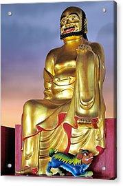 Buddha Acrylic Print by Christine Till