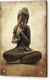 Buddha Lotus Acrylic Print by Madeleine Forsberg