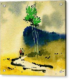 Buddies Acrylic Print by Anil Nene