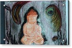 Budita Acrylic Print by Kasper Castillo