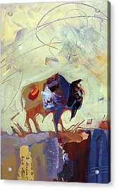 Buffalo IIi Acrylic Print by Shelli Walters
