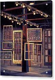 Building 8 At The Factory Acrylic Print by Janet King